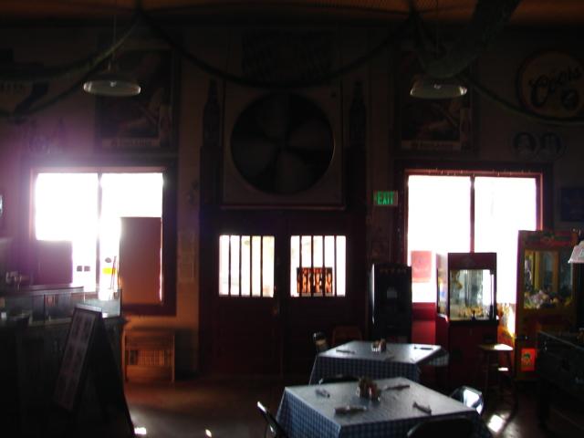 Restaurant front door 002