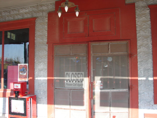 Changing Front Doors Walburg German Restaurant