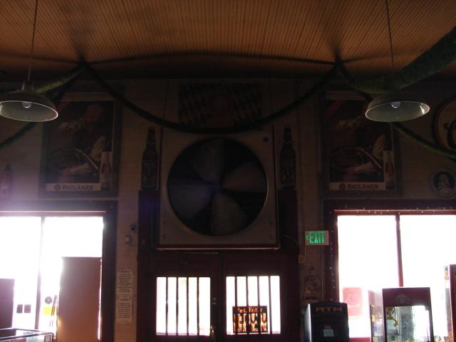 Restaurant front door 009