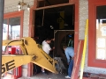Restaurant front door 029