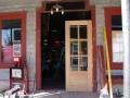 Restaurant front door 033